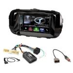 Autoradio Navigation CarPlay et Android Auto DNX5180BTS, DNX451RVS ou DNX8180DABS Kia Soul depuis 2014