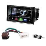 Autoradio Navigation CarPlay et Android Auto DNX5180BTS, DNX451RVS ou DNX8180DABS Kia Sorento de 2006 à 2009