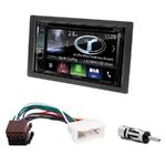 Autoradio Navigation CarPlay et Android Auto DNX5170BTS, DNX450TR ou DNX8170DABS Kia Carens de 2007 à 2010