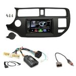 Autoradio Navigation CarPlay et Android Auto DNX5180BTS, DNX451RVS ou DNX8180DABS Kia Rio de 09/2011 à 03/2015