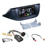 Autoradio Navigation CarPlay et Android Auto DNX5170BTS, DNX450TR ou DNX8170DABS Kia Ceed depuis 2012