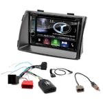 Autoradio Navigation CarPlay et Android Auto DNX5180BTS, DNX451RVS ou DNX8180DABS Kia Sorento 2009 à 2012
