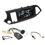 Autoradio Navigation CarPlay et Android Auto DNX5180BTS, DNX451RVS ou DNX8180DABS Kia Picanto depuis 05/2011
