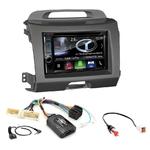 Autoradio Navigation CarPlay et Android Auto DNX5180BTS, DNX451RVS ou DNX8180DABS Kia Sportage de 08/2010 à 2014