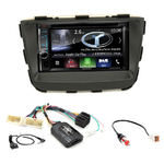 Autoradio Navigation CarPlay et Android Auto DNX5180BTS, DNX451RVS ou DNX8180DABS Kia Sorento de 2012 à