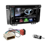 Autoradio Navigation CarPlay et Android Auto DNX5180BTS, DNX451RVS ou DNX8180DABS Land Rover Freelander de 2004 à 2006