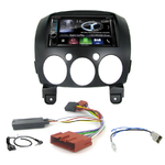 Autoradio Navigation CarPlay et Android Auto DNR4190DABS, DNX5190DABS ou DNX9190DABS Mazda 2 depuis 2007
