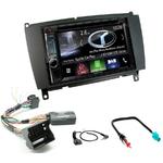 Autoradio Navigation CarPlay et Android Auto DNX5180BTS, DNX451RVS ou DNX8180DABS Mercedes Benz CLK de 2004 à 2009