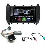 Autoradio Navigation CarPlay et Android Auto DNR4190DABS, DNX5190DABS ou DNX9190DABS Mercedes Benz Classe C de 2004 à 2007