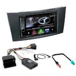 Autoradio Navigation CarPlay et Android Auto DNX5180BTS, DNX451RVS ou DNX8180DABS Mercedes Benz Classe E de 2002 à 2009