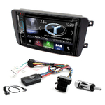 Autoradio Navigation CarPlay et Android Auto DNX5170BTS, DNX450TR ou DNX8170DABS Mercedes Benz Classe C W203, CLK W209, Viano & Vito