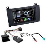 Autoradio Navigation CarPlay et Android Auto DNX5180BTS, DNX451RVS ou DNX8180DABS Mercedes Benz SLK de 2004 à 2011