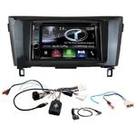 Autoradio Navigation CarPlay et Android Auto DNX5180BTS, DNX451RVS ou DNX8180DABS Nissan Qashqai et X-Trail depuis 2014
