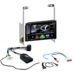 Autoradio Navigation CarPlay et Android Auto DNX5180BTS, DNX451RVS ou DNX8180DABS Nissan X-Trail de 2007 à 2014