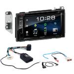 Autoradio Navigation CarPlay et Android Auto DNX5180BTS, DNX451RVS ou DNX8180DABS Nissan Qashqai de 2006 à 2013