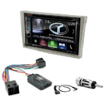 Autoradio Navigation CarPlay et Android Auto DNX5180BTS, DNX451RVS ou DNX8180DABS Opel Tigra Combo Corsa Vivaro & Omega