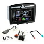 Autoradio Navigation CarPlay et Android Auto DNX5180BTS, DNX451RVS ou DNX8180DABS Peugeot 308, 308CC, 308SW & RCZ