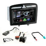 Autoradio Navigation CarPlay et Android Auto DNR4190DABS, DNX5190DABS ou DNX9190DABS Peugeot 308, 308CC, 308SW & RCZ