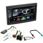 Autoradio Navigation CarPlay et Android Auto DNX5170BTS, DNX450TR ou DNX8170DABS Peugeot 307, 207 & Partner Tepee