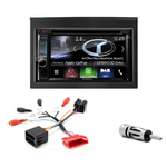 Autoradio Navigation CarPlay et Android Auto DNX5170BTS, DNX450TR ou DNX8170DABS Porsche 911 996 & Boxster 986