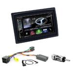 Autoradio Navigation CarPlay et Android Auto DNX5180BTS, DNX451RVS ou DNX8180DABS Renault Megane 2