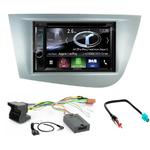 Autoradio Navigation CarPlay et Android Auto DNX5180BTS, DNX451RVS ou DNX8180DABS Seat Leon de 2005 à 2010
