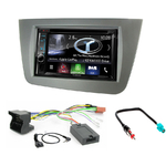 Autoradio Navigation CarPlay et Android Auto DNX5180BTS, DNX451RVS ou DNX8180DABS Seat Toledo, Altea & Altea XL depuis 2004