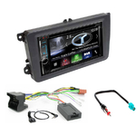 Autoradio Navigation CarPlay et Android Auto DNX5170BTS, DNX450TR ou DNX8170DABS Skoda Roomster, Octavia, Rapid & Fabia
