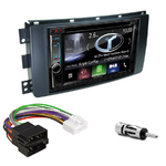 Autoradio Navigation CarPlay et Android Auto DNX5180BTS, DNX451RVS ou DNX8180DABS Smart ForTwo de 2007 à 08/2010