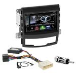 Autoradio Navigation CarPlay et Android Auto DNX5170BTS, DNX450TR ou DNX8170DABS Ssangyong Korando de 2010 à 2013