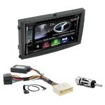 Autoradio Navigation CarPlay et Android Auto DNX5180BTS, DNX451RVS ou DNX8180DABS Ssangyong Rexton de 2006 à 2013