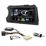 Autoradio Navigation CarPlay et Android Auto DNX5180BTS, DNX451RVS ou DNX8180DABS Ssangyong Kyron depuis 2005 & Actyon depuis 2006