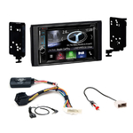 Autoradio Navigation CarPlay et Android Auto DNX5180BTS, DNX451RVS ou DNX8180DABS Subaru Impreza et XV de 2012 à 2015