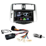 Autoradio Navigation CarPlay et Android Auto DNX5180BTS, DNX451RVS ou DNX8180DABS Toyota Land Cruiser 150 de 2009 à 2013