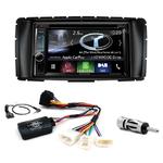 Autoradio Navigation CarPlay et Android Auto DNX5180BTS, DNX451RVS ou DNX8180DABS Toyota Hilux depuis de 2012 à 2015