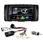 Autoradio Navigation CarPlay et Android Auto DNX5170BTS, DNX450TR ou DNX8170DABS Toyota Hilux depuis 2012