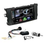 Autoradio Navigation CarPlay et Android Auto DNX5170BTS, DNX450TR ou DNX8170DABS Toyota Auris de 2007 à 2013