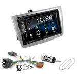 Alfa Romeo Mito de 2008 à 2014 : Poste radio 2-DIN avec CD/USB/Bluetooth avec ou sans écran tactile