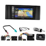 Pack autoradio GPS Série 5 E39 de 1996 à 2003 & BMW X5 E53 de 1999 à 2006 - iLX-702D, iLX-F903D, INE-W611D ou INE-W720D au choix