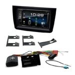 Alfa Romeo Mito de 2014 à 2018 : Poste radio 2-DIN avec CD/USB/Bluetooth avec ou sans écran tactile