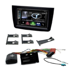 Autoradio Navigation CarPlay et Android Auto DNX5180BTS, DNX451RVS ou DNX8180DABS Alfa Romeo Mito de 2014 à 2018