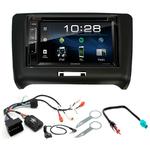 Audi TT de 2006 à 2014 : Poste radio 2-DIN avec CD/USB/Bluetooth avec ou sans écran tactile