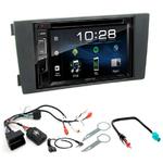 Audi A6 de 05/2001 à 05/2005 : Poste radio 2-DIN avec CD/USB/Bluetooth avec ou sans écran tactile