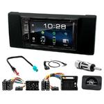 BMW Série 5 E39 de 1996 à 2003 et X5 E53 de 1999 à 2006 : Poste radio 2-DIN avec CD/USB/Bluetooth avec ou sans écran tactile