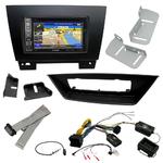 Pack autoradio GPS BMW X1 de 2009 à 2015 - iLX-702D, INE-F904D, INE-W611D ou INE-W720D au choix