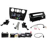 Autoradio Navigation CarPlay et Android Auto DNX5170BTS, DNX450TR ou DNX8170DABS BMW Série 3 de 2005 à 2012 avec climatisation manuelle