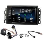 Chevrolet Aveo de 2006 à 2010, Captiva depuis 2006 & Epica de 2006 à 2012 : Poste radio 2-DIN avec CD/USB/Bluetooth avec ou sans écran tactile