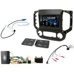 Chevrolet S10 et Colorado de 2016 à 2018 : Poste radio 2-DIN avec CD/USB/Bluetooth avec ou sans écran tactile
