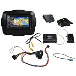 Pack autoradio GPS Jeep Renegade depuis 2015 - iLX-702D, INE-F904D, INE-W611D ou INE-W720D au choix
