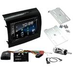 Fiat Ducato, Citroën Jumper et Peugeot Boxer depuis 05/2014 : Poste radio 2-DIN avec CD/USB/Bluetooth avec ou sans écran tactile